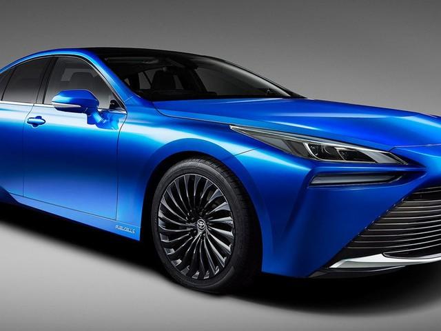 Toyota révèle la Mirai 2, sa nouvelle berline fonctionnant à l'hydrogène