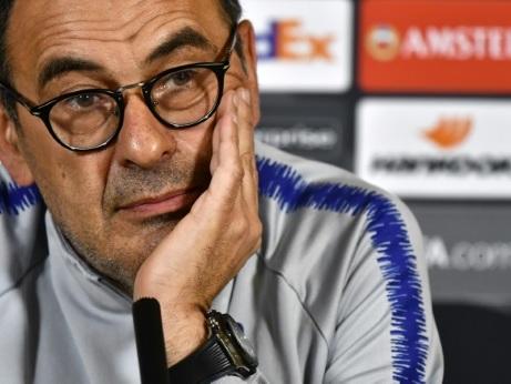 """Italie: """"Sarriverderci"""" Chelsea, Sarri à la Juventus"""
