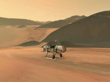 Un drone sur Titan en 2034, la mission d'une vie