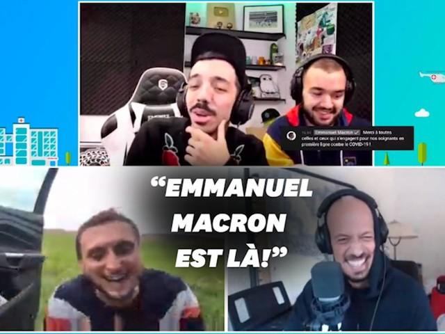 """Macron remercie """"Mcfly & Carlito"""" pour leur aide aux hôpitaux"""