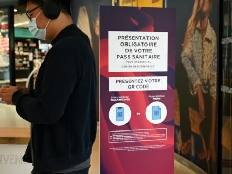 Annulation du pass sanitaire dans les centres commerciaux de plusieurs départements