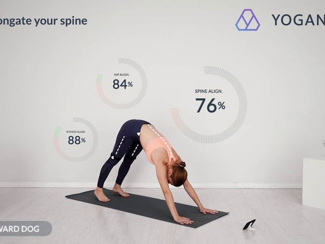 Yoganotch utilise l'intelligence artificielle pour améliorer votre yoga