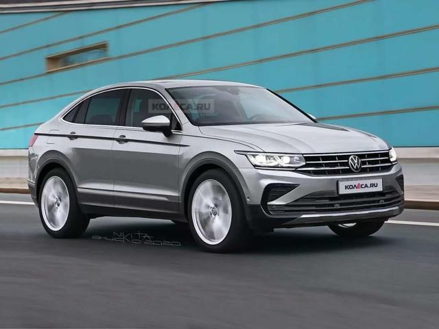 Le Volkswagen Tiguan Coupé en approche
