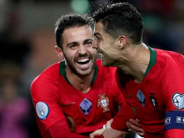 Cristiano Ronaldo va très bien et le Portugal n'en est plus très loin