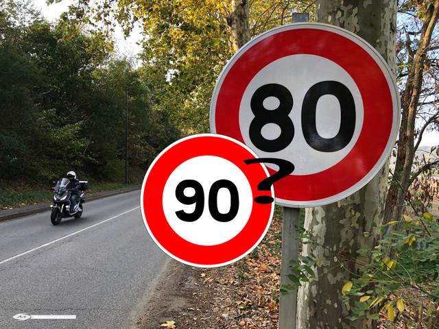 Sondage : oui au retour à 90 km/h !