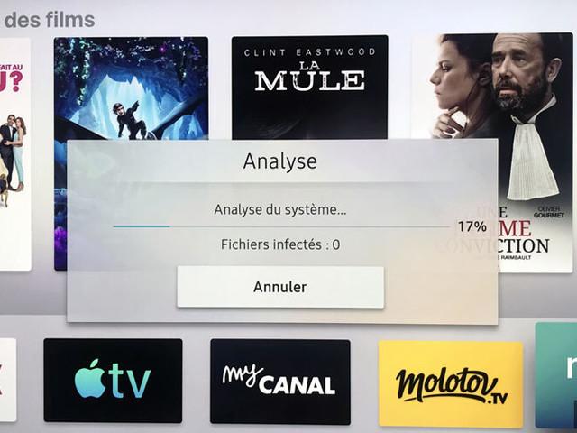 Actualité : Samsung intègre un antivirus sur ses téléviseurs