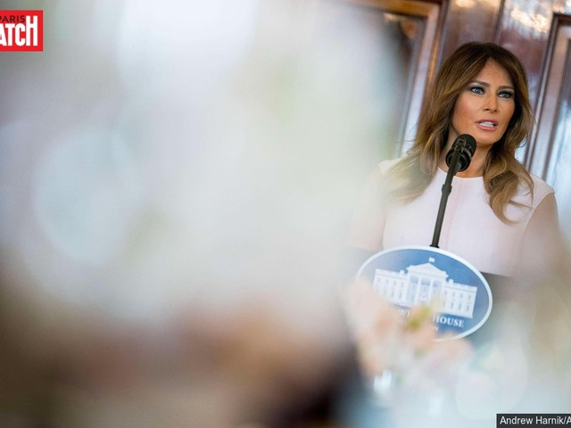 Melania Trump fait un premier pas contre le cyber-harcèlement
