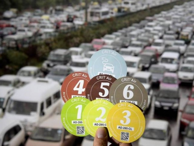 Pollution à Paris: la circulation différenciée mise en place ce dimanche 25