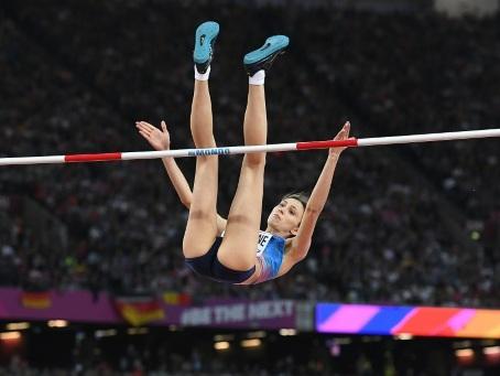 Dopage: la star du saut en hauteur Lasitskene fustige les autorités russes