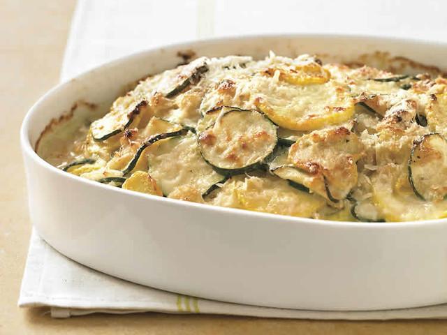 Gratin courgettes et pommes de terre au thermomix