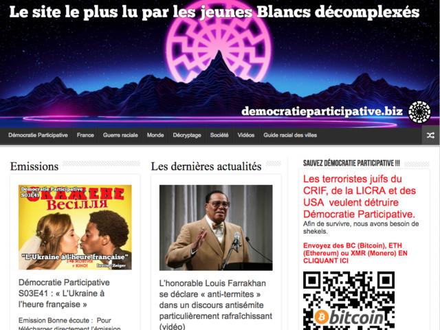 Antisémite, raciste, homophobe : la justice fançaise tente de bloquer un site Internet étendard de la fachosphère