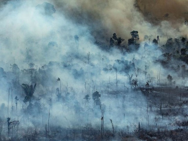 EN DIRECT - En vol au dessus du chaos, nos images aériennes des incendies en Amazonie (DOCUMENT TF1/LCI)