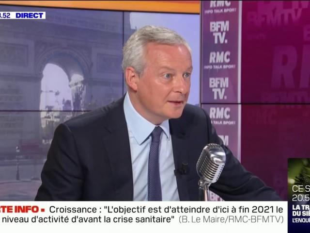 Le pass sanitaire ne concernera plus que 64 centres commerciaux dès mercredi, annonce Bruno Le Maire