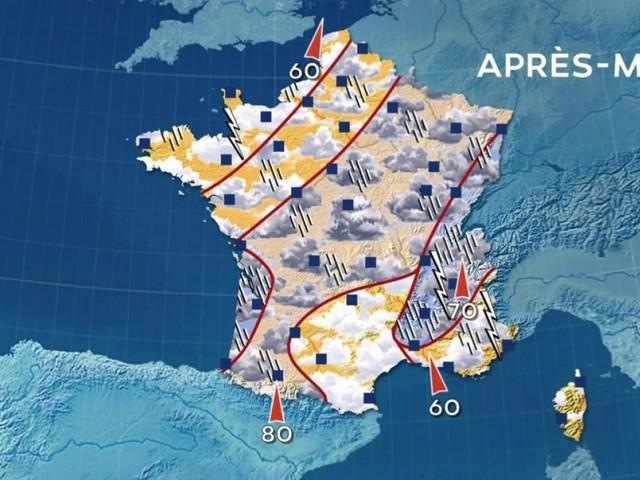 Météo : fortes pluies attendues sur la moitié sud de la France, l'Ardèche en alerte orange