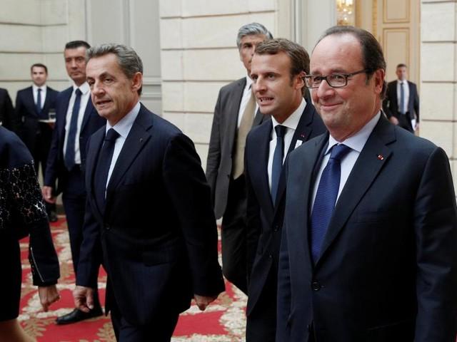 France: trois présidents réunis pour célébrer les JO 2024 à Paris