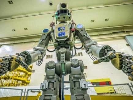 Le vaisseau Soyouz avec le premier robot humanoïde russe ne parvient pas à s'arrimer à l'ISS