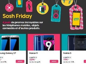 Sosh Friday : -300€ sur les Samsung Galaxy S7 et S7 Edge