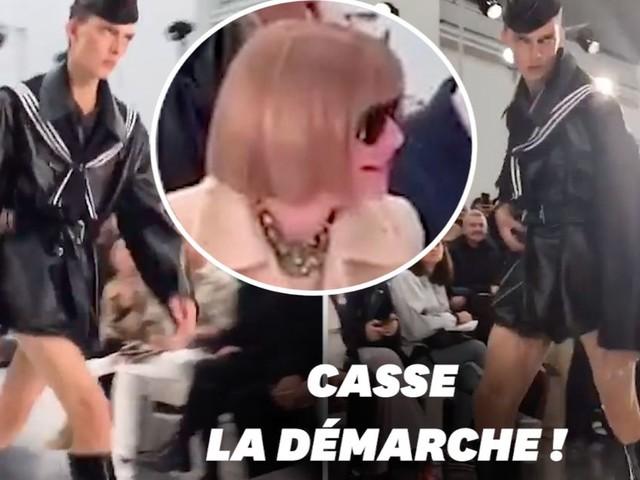 À la Fashion Week de Paris, Leon Dame a fait rire Anna Wintour
