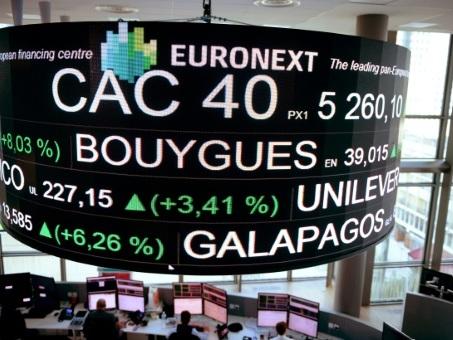 La Bourse de Paris entame la semaine dans la morosité (-0,56%)