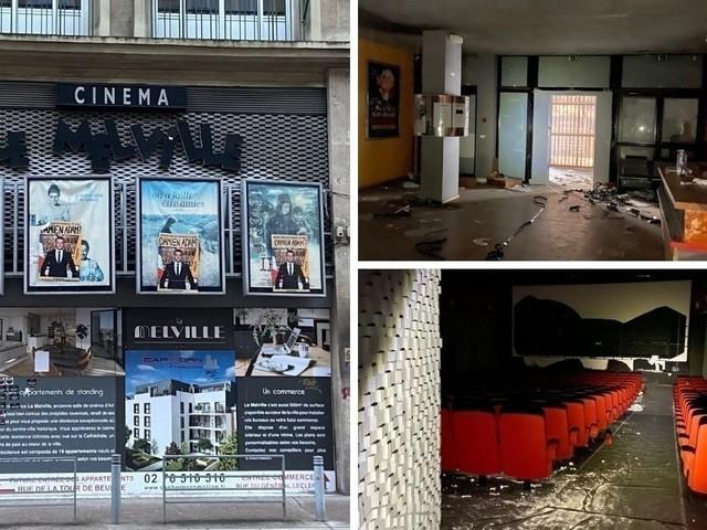 """Rouen. Bientôt une vente aux enchères des objets du """"cinéma fantôme"""", Le Melville"""