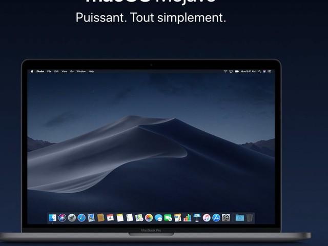 macOS Mojave est disponible au téléchargement