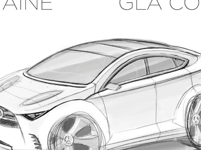 Le Croquis de la semaine, Mercedes-Benz GLA Coupé