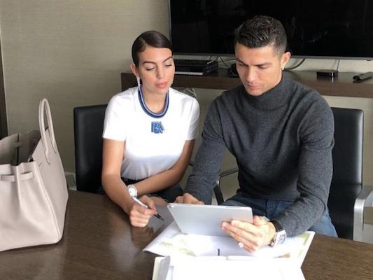 Cristiano Ronaldo, que gagne sa compagne Georgina Rodriguez ?