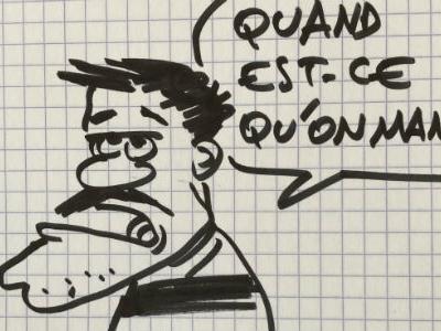 EN IMAGES - Les dessins de Jul, en balade au bois de Vincennes