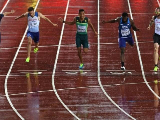 Athlétisme: Lemaitre passe à la trappe du 200 m à Londres