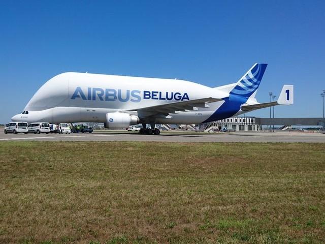 Le Beluga XL d'Airbus survole le ciel breton pour l'entrainement des équipages