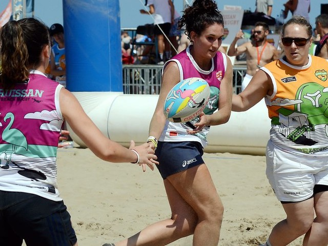 Gruissan décroche pour 3 ans la finale du tournoi national de beach rugby
