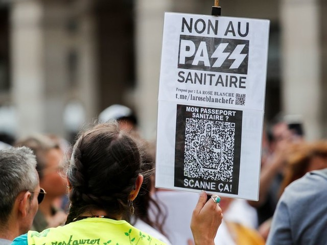 Plus de 200 manifestations anti-pass sanitaire pour le dernier samedi avant la rentrée
