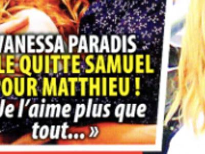 Vanessa Paradis, fini Samuel Benchetrit, son coeur bat pour Matthieu Chedid (photo)