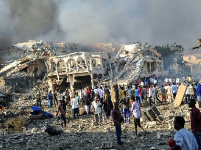 Somalie: des dizaines de morts dans l'attentat de Mogadiscio