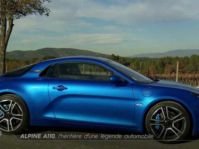 Alpine A110, l'héritière d'une légende automobile - Emission TURBO du 10/12/2017