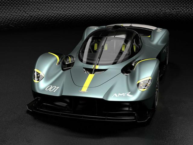 Aston Martin Valkyrie: un pack AMR dédié à la piste