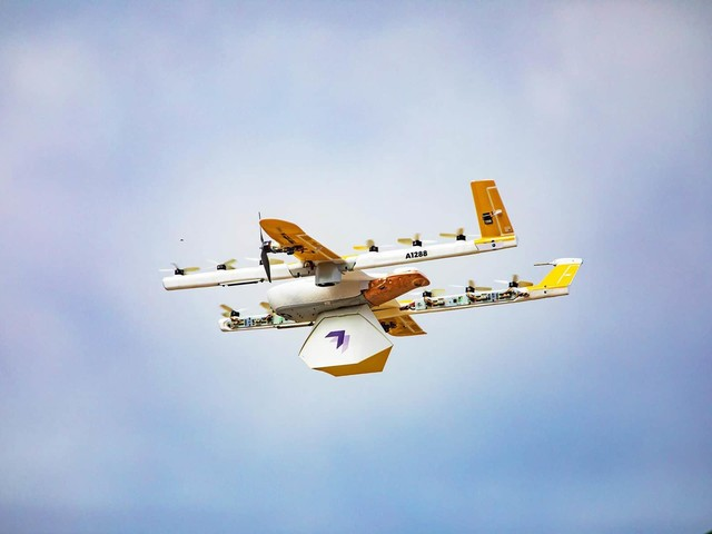 Wing : Alphabet lance le premier service de livraison par drone aux États-Unis