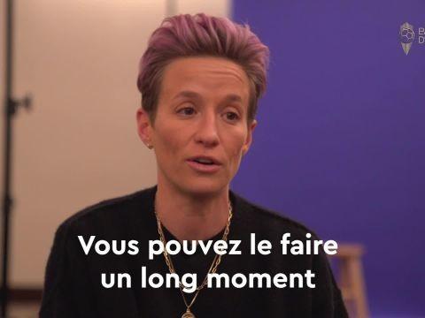 Foot - Megan Rapinoe, lauréate du Ballon d'Or France Football 2019 : « Je sais que j'ai réalisé quelque chose de spécial »