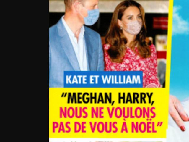William, Kate Middleton, «Meghan Markle, et Harry, nous ne voulons pas de vous à Noël»