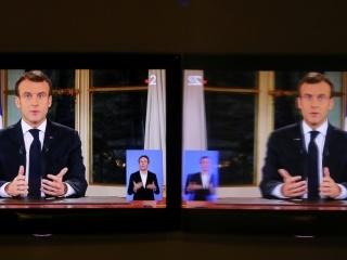 Plus de 21 millions de téléspectateurs pour les annonces de Macron