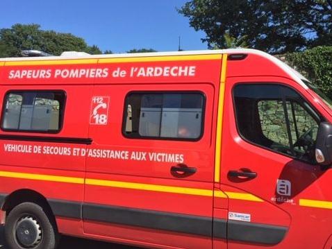 Ardèche : un mort et un blessé dans un choc frontal