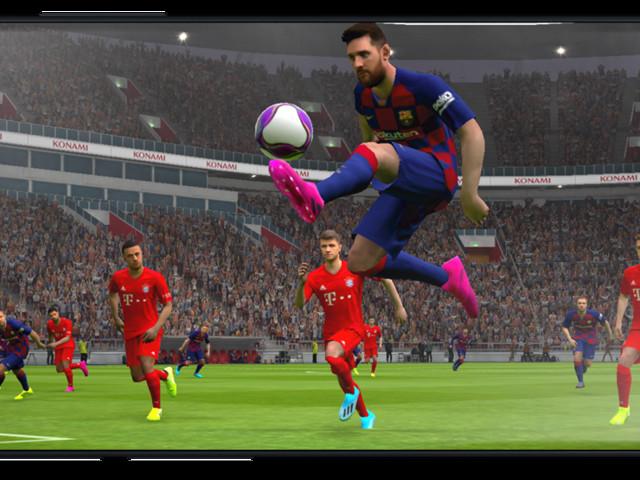 eFootball PES 2020 sur les plateformes mobiles en octobre