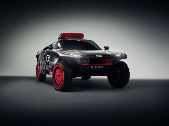 Audi RS Q e-tron : le buggy électrique du Dakar 2022 !