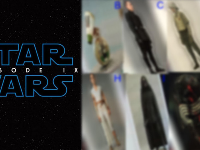Star Wars IX : 17 images fuitées de Kylo Ren, Rey, Lando Calrissian, Dominic Monaghan, le nouveau droïde et de nombreux aliens