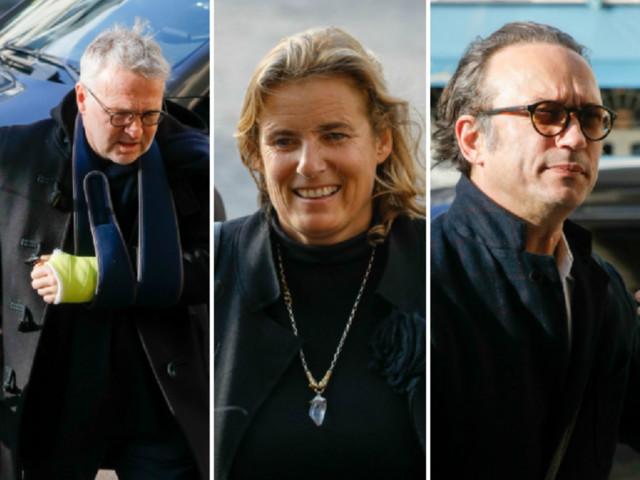 PHOTOS. Obsèques de Marie Laforêt : sa fille Lisa Azuelos, Laurent Ruquier et Vincent Perez lui ont rendu un dernier hommage