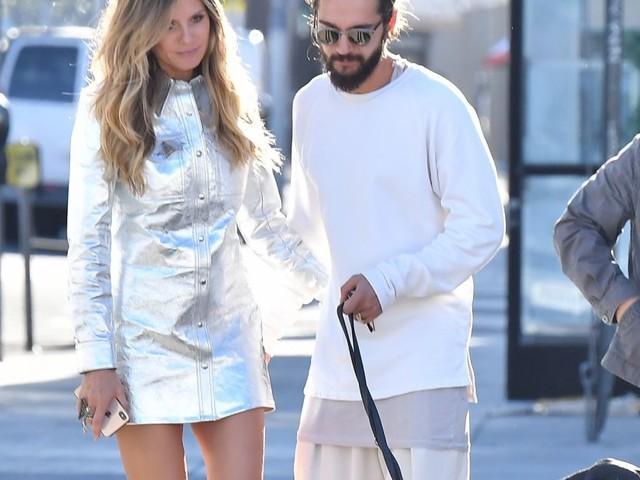 Heidi Klum et Tom Kaulitz : Tendres baisers, même au travail