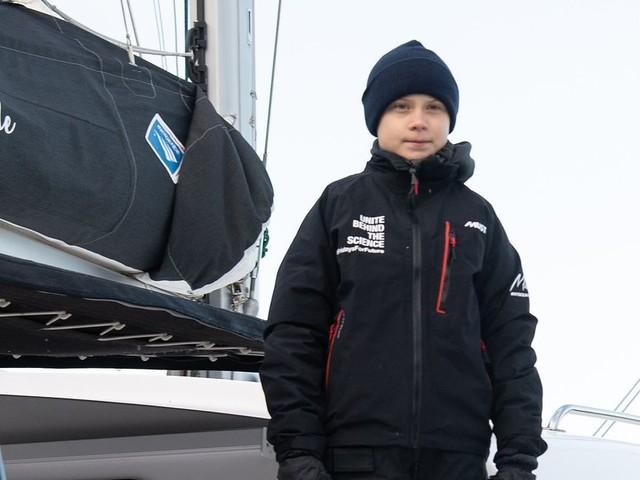 Greta Thunberg quitte les États-Unis en bateau direction la COP25