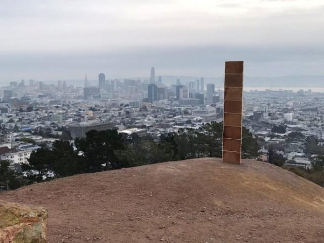 Pour Noël, San Francisco a eu droit à un monolithe en pain d'épice