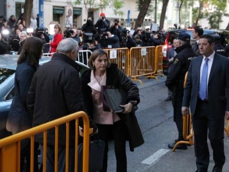Catalogne: la présidente du Parlement écrouée jusqu'au versement d'une caution