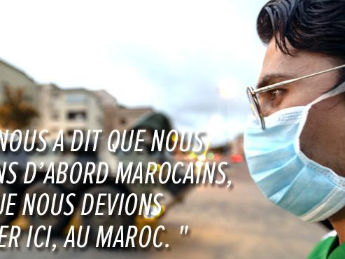 """Rachid, Belgo-Marocain, est bloqué au Maroc avec ses parents: """"On se sent vraiment délaissés"""""""